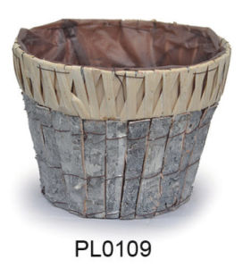 Wooden Chip Flower Pot for Home and Garden Decoration pictures & photos