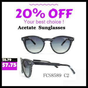 2017 New Brand Hand Made Acetate Design Sunglasses pictures & photos