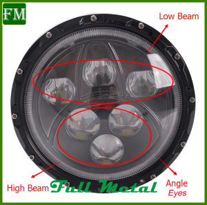 White/Red/Yellow Color Ring off Road Front Light pictures & photos