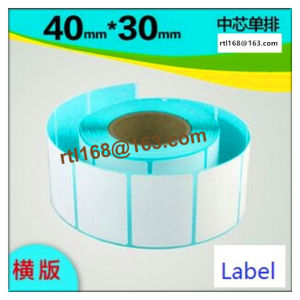 Thermal Barcode Sticker / Zebra Label 50*30 40*30 40*60 pictures & photos