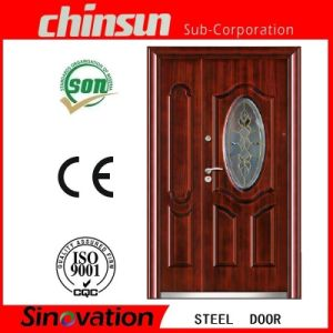 Professional Steel Door with Glass with Ce Certificate pictures & photos