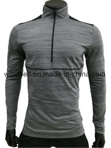 Anti-UV Sportswear for Men with Reflective Tape pictures & photos