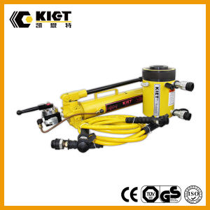 600t Double Acting Heavy Duty Hollow Hydraulic Cylinder pictures & photos