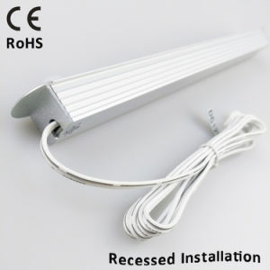 DC12V SMD5050 Recessed PIR Motion Sensor Rigid LED Bar Light for Wardrobes pictures & photos