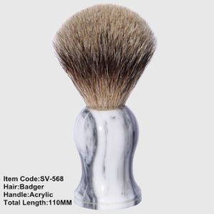 Badger Hair Acrylic Handle Shaving Cosmetic Brush pictures & photos