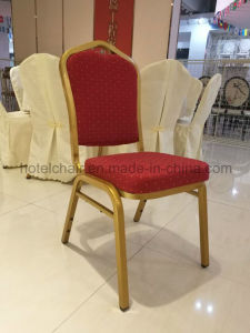 Wholesale High Quality Fabric Hotel Chair Steel Banquet Chair pictures & photos