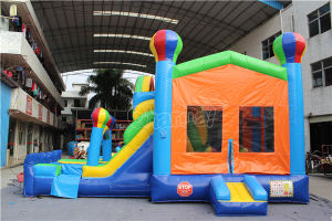 Balloon Castle Inflatable Bouncy Combo Chb1120 pictures & photos
