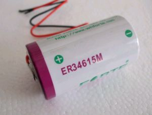 Er34615m 3.6V D Size Battery 14.5ah High Power Batteries Automatic Meter Reading System Battery