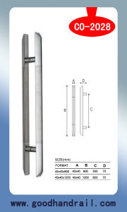 Handrail Fittings (CO-2028) /Door Handle/Glass Accessories pictures & photos