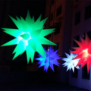 1.5m Diameter Inflatable Lighting Star for Party Decoration pictures & photos