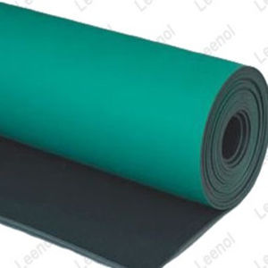 Green Antistatic ESD Rubber Sheet Roll pictures & photos