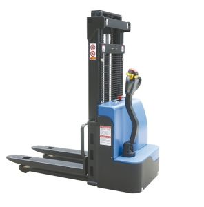 China Good Quality 1.5ton Walkie Electric Stacker with Ce pictures & photos