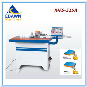 Mfs-515A Model Woodworking Machinery Furniture Manual Curve Edge Bander Machine pictures & photos
