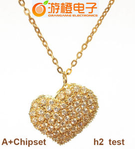 Fashion Gift New Crystal Heart USB Flash Drive (OM-C110) pictures & photos