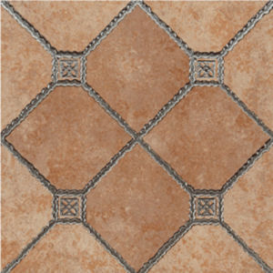 Non slip ceramic floor tiles
