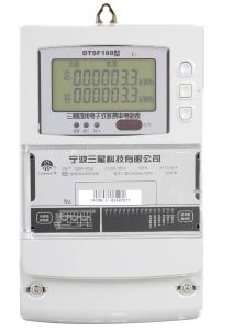 Three-Phase Four-Wire/Three-Phase Three-Wire Multi-Tariff Static Meter(Meter, Electronic Meter, Static Meter)