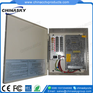 12VDC 13A 8CH Metal Cased CCTV Power Supply (12VDC13A8P) pictures & photos
