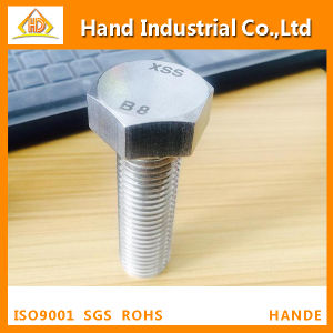 Stainless Steel ASME A193 B8 B8m M27X180 Hex Head Bolt pictures & photos