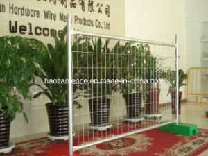 Galvanised Temporary Fence/Portable Fencing/Crowd Control Barrier -as/Nz pictures & photos
