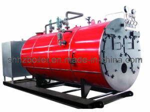500-4000kg/H Fire Tube 3 Pass Wet Back Type Oil Fired Steam Boiler pictures & photos