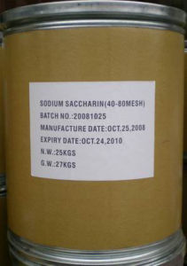 High Quality Sweetener Sodium Saccharin (BP/USP/EP) pictures & photos