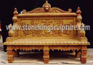 Hand Carved Marble Stone Bench for Outdoor pictures & photos