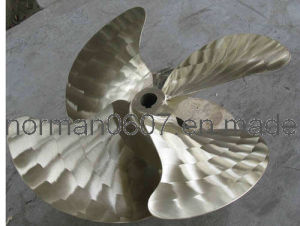 850mm Diameter Bronze Propeller for Ship Propulsion Device