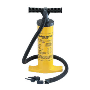 Double Action Heavy-Duty Pump, Measuring 15-1/4 x 3.94 inches