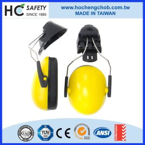 CE En352-1 Workplace Hearing Protection Mounted Earmuff Helmet