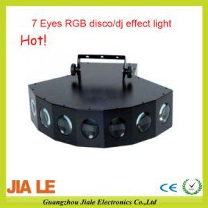 LED Effect Light/LED 7 Eyes Disco Light