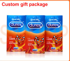 China manufacturer customized gift box for Dulex condom (sexy toy packaging) pictures & photos