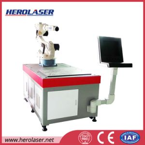 Solenoid Valves/ Motor Rotors/ Ultrasonic Sensors Seam Laser Welding Machine with Ipg Fiber Laser Source pictures & photos