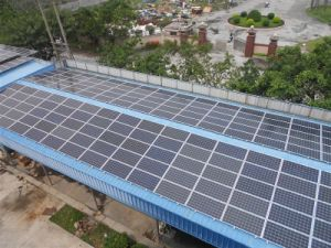 Efficiency Better Promoted with 4 BB Cells -295W Polycrystalline Solar Panels pictures & photos