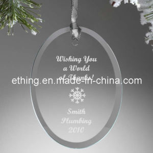Crystal Glass Christmas Holiday Ornament/Decoration for Souvenir Gift pictures & photos
