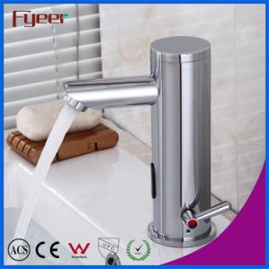 Fyeer Single Handle DC Power Electronic Auotamatic Sensor Faucet pictures & photos