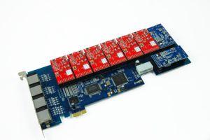 Asterisk PCI-E Card--16ports Analog PCI-E Card