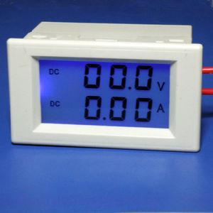 China LCD Digital Panel Meter DC AMP & Volt Combo Meter ...