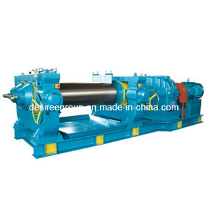 Two Roll Mixing Milling Rubber Machine