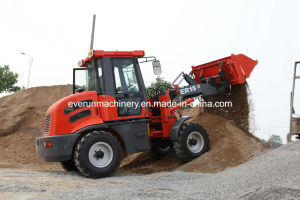 Everun Brand CE Approved Articulated 1.5ton Front End Loader pictures & photos