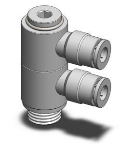 Banjo Series Pneumatic Banjo Fittings (MPBF)