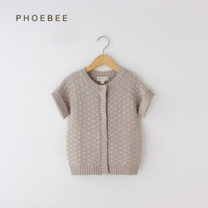 Phoebee Wool Clothes Girls Knitting/Knitted Cardigans for Winter pictures & photos