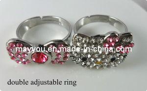 Fashion Hello Kitty Jewelry -Hello Kitty Double Finger Ring