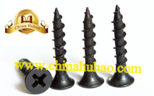 Screw/Drywall Screw/Black Drywall Screw Phosphat 3.5-4.8mm My Factory Hot Sell pictures & photos
