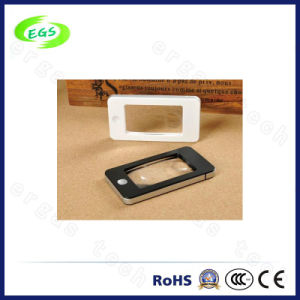 2X, 5X LED Portable Light Reading Magnifier Lamp/Lens for Cellphone, Mini Magnifying Glass (EGS-191) pictures & photos