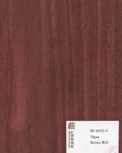 Melamine Paper, Melamine Film Walnut (HB-40102-6) pictures & photos