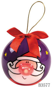 Christmas Gift Blinking Nose Ball (B3577)