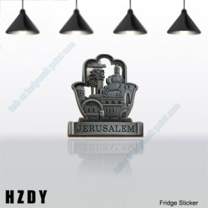 High Quality Metal Tourist Attractions Fridge Stickers