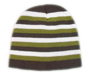 Strip Knitted Hat (HD901)