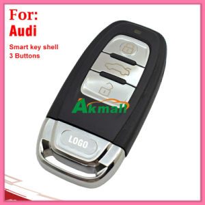 Q5 A4l A6l A8l Auto Smart Key Shell with 3 Buttons for Audi with Battery Holders pictures & photos