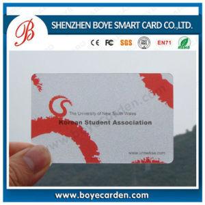 Hot Sale Transparent Plastic Card pictures & photos